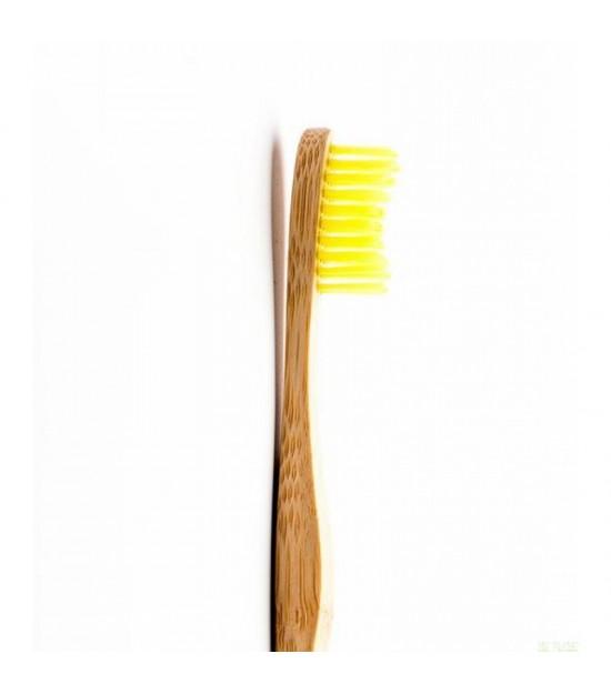 Cepillo bambu adulto medio amarillo HUMBLE BRUSH