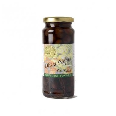 Aceituna negra CAL VALLS 200 gr ECO