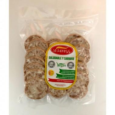 Fuet vegetal lonchas IEZER 150 gr
