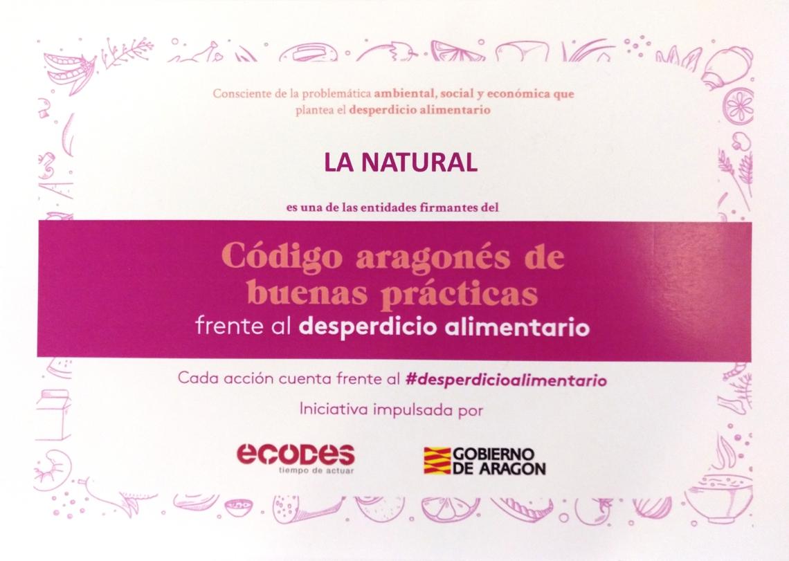 Diploma de La Natural